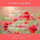 Compassie en Mindful Wandeling door Esther Augustinus